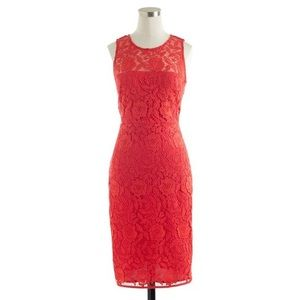 J Crew Collection Lace Sheath Dress 2